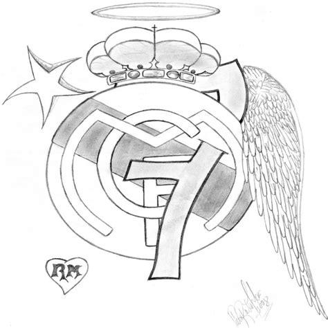 escudo del madrid para colorear az dibujos para colorear escudos del real madrid para colorear imagui