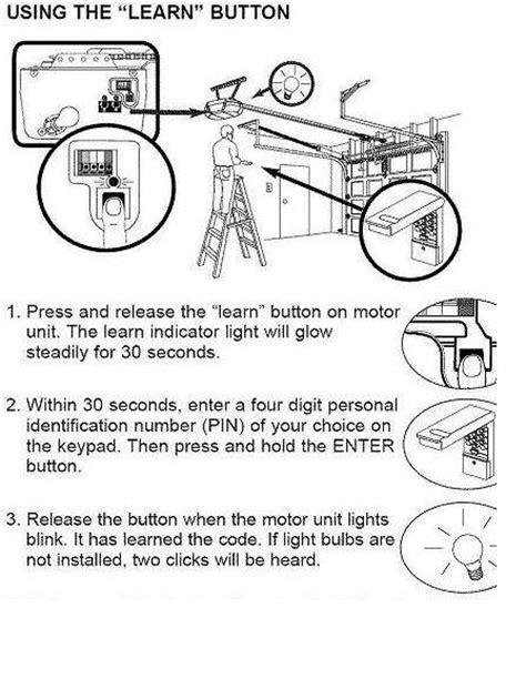 Powerlift Garage Door Learn Button How Do You Program A Craftsman Garage Door Opener