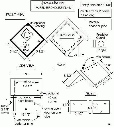 awesome small bird house plans new home plans design