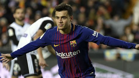 barcelona coutinho philippe coutinho scores first barcelona goal in semi