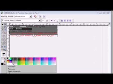 tutorial oracle youtube tutorial plantila de reportes oracle 10g youtube