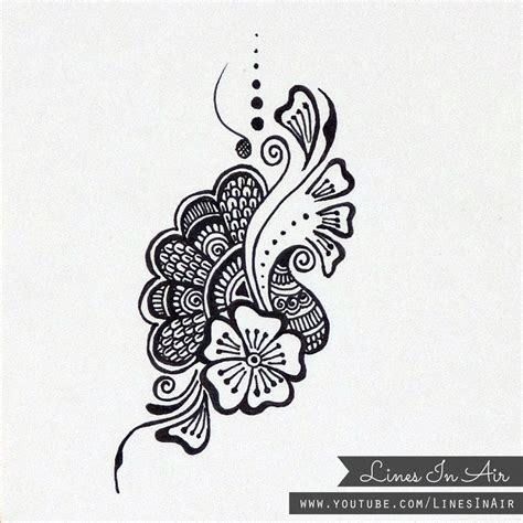 henna design patterns henna design doodle by linesinair on deviantart mehndi