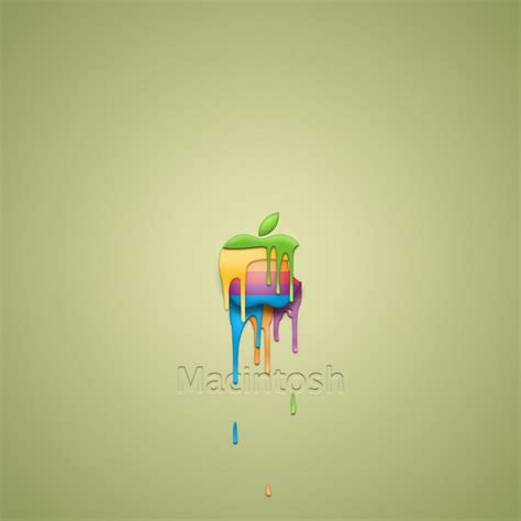 apple wallpaper 2048 x 2048 dripping colors apple wallpaper hd wallpapers and
