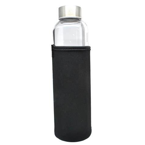 Botol Kaca Ulir 10 Ml Botol E Liquid Serum botol minum kaca transparan 550ml black