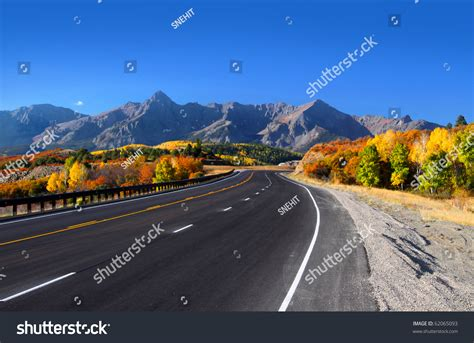 scenic drives near me scenic drive near dallas divide san stock photo 62065093