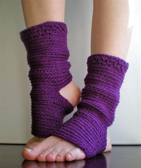 tutorial calcetines yoga pattern yoga socks dance pilates ballet leg warmers
