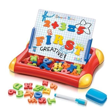 Mainan Magnetik Letters Anak jual beli drawing board magnetic letter and number