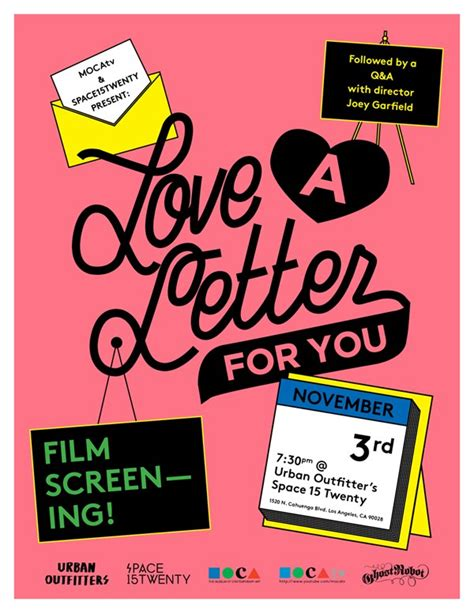 film love letter a love letter for you 11 3 cupcake punk