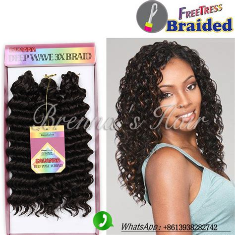 10inch deep wave synthetic braided style 10inch freetress water wave popular extension braid styles buy cheap extension braid