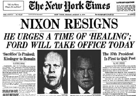 Why Did Richard Nixon Resign The Office Of President by Watergate Timeline Timetoast Timelines