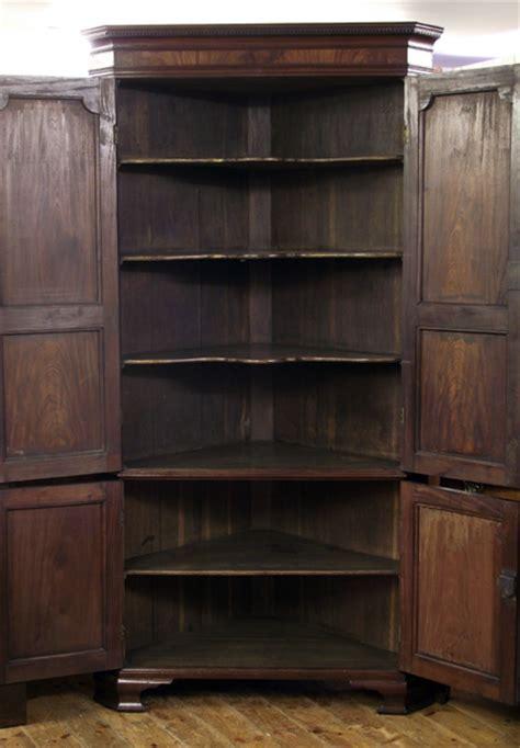 Antique corner cupboard, georgian corner cupboard, antique