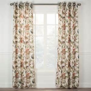 Lined Grommet Curtains Ellis Brissac Lined Grommet Top Curtain Panel Panels Drapes Curtains