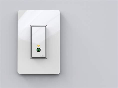 belkin wemo wifi light switch announced at ces home