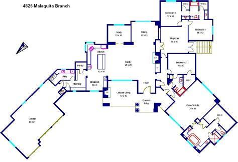 floor plan in spanish 28 plans in spanish house plan in spanish