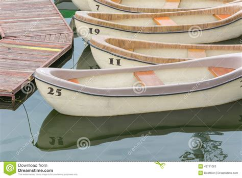 cartoon pleasure boat lake and pleasure boats royalty free stock photo