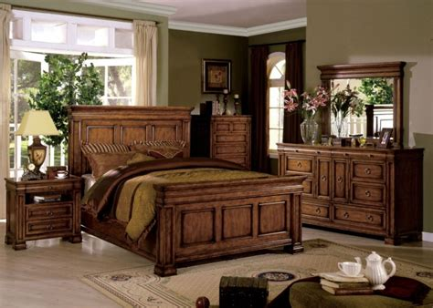 cambridge bedroom furniture cambridge rich tobacco oak panel bedroom set cm7812oak q