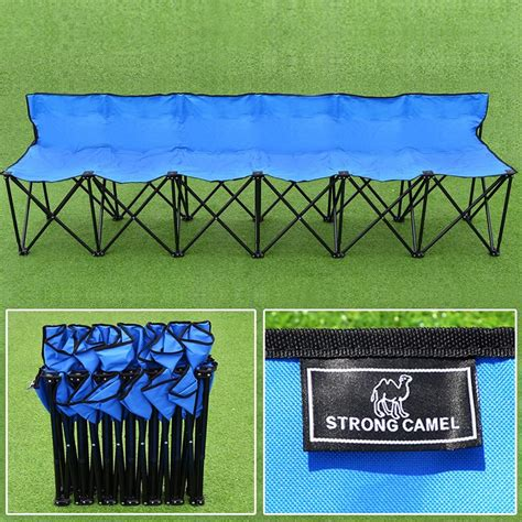 foldable team bench best collapsible benches for sports teams 2018