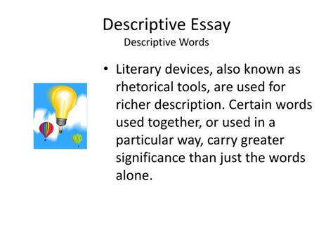Vocabulary Used In Descriptive Essays by Descriptive Essay Vocabulary Words Essay Writing Service