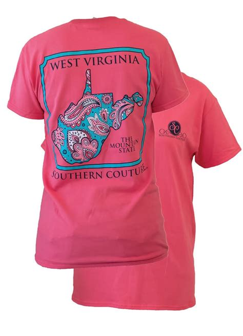 Southern Couture West Virginia Preppy from Simply Cute Tees