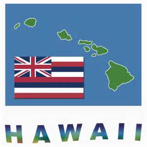 hawaii state colors quot hawaii state flag quot stickers by peteroxcliffe redbubble