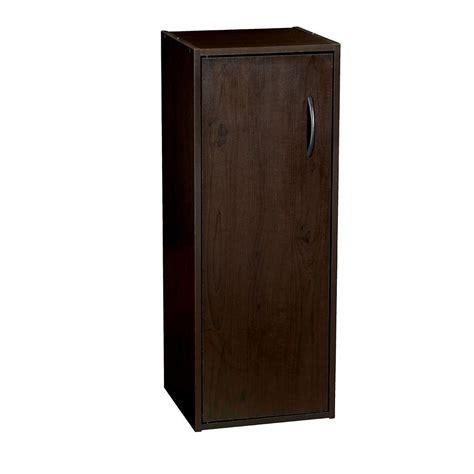 closetmaid door organizer closetmaid 12 in x 31 5 in espresso stackable 1 cube