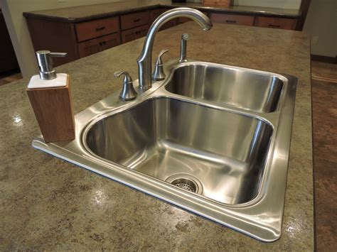 top mount sink on granite how to put a sinks for granite countertops iscareyou com