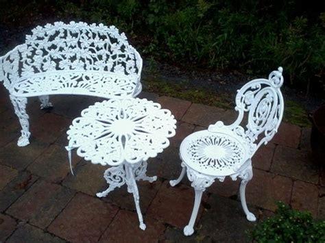 vintage cast iron patio furniture newsonair org