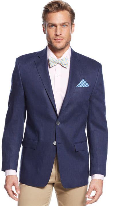 navy blue linen blazer hardon clothes