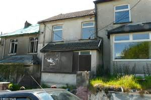 house in need of renovation for sale two tonypandy houses go up for sale in same street at just