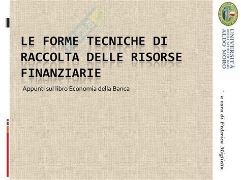 economia degli intermediari finanziari servizi
