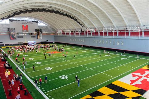 cole field house umd unveils cole field house s newly renovated practice fields the diamondback