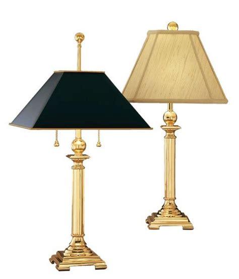 Georgetown Solid Brass Desk L by Georgetown Solid Brass Desk L Remington L Table