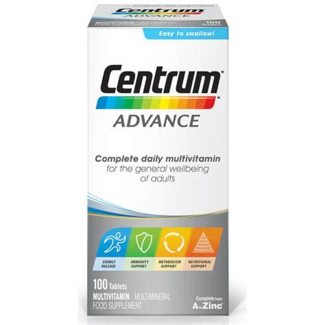 Centrum Advance 100tab centrum advance multivitamin tablets 100 tablets buy mankind