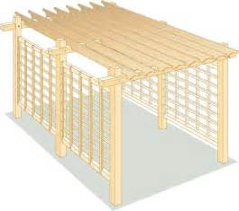 How To Build A Large Pergola by How To Build A Pergola For Backyard Shade Diy Mother
