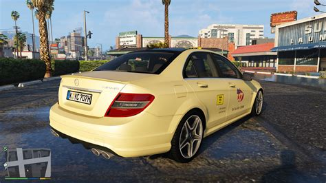 Mercedes In Germany by Mercedes C63 Amg Germany Taxi Gta5 Mods