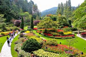 panoramio photo of world famous butchart gardens