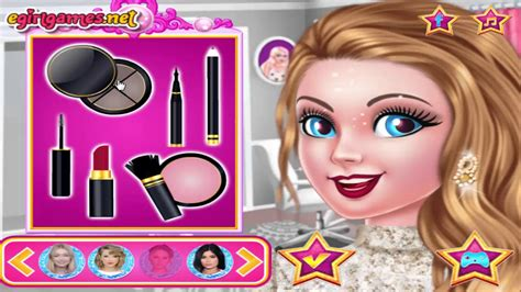 celebrity hairstyles dressup games barbie celebrity style best dress up games for girls 2017