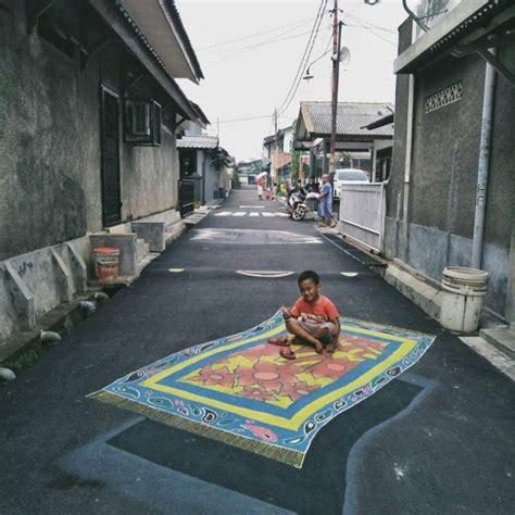 cara membuat gambar 3d di jalan up kung 3d di depok mendadak viral begini foto foto