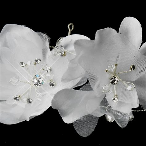 Rhinestone Flower Headpiece flower rhinestone bridal headpiece