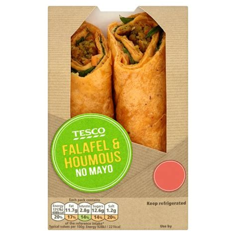 Mexican Decorations For Home Tesco Falafel And Houmous Wrap My Vegan Supermarket