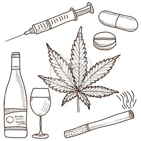imagenes para pintar sobre la droga fototapeta ilustracja narkotyk 243 w marihuany alkoholu i