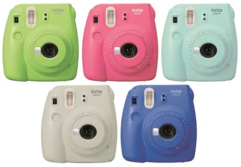 Isi Refill Fujifilm Instax Mini Instant Color Isi 30 fujifilm s instax mini 9 is colorful and selfie friendly