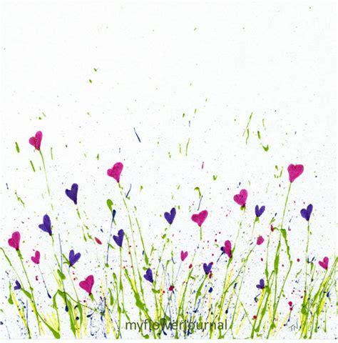 make flower painting free printable for splattered paint flower my flower
