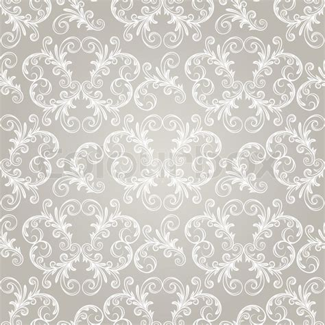 vector vintage pattern background vector seamless vintage wallpaper pattern on gradient