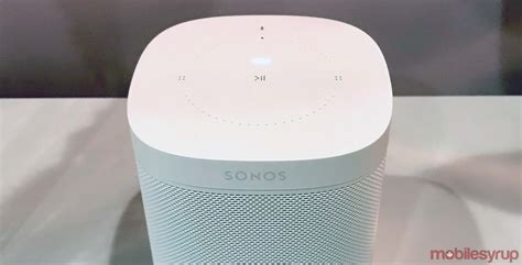 94 of smart speakers used today are from amazon or google sonos one smart speaker is now available in canada