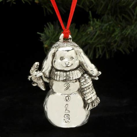 2014 arthur court bunny christmas ornament