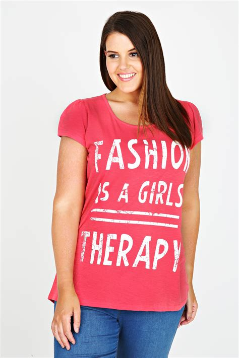 Sleeve Dip Back T Shirt watermelon sleeve fashion slogan dip back t shirt