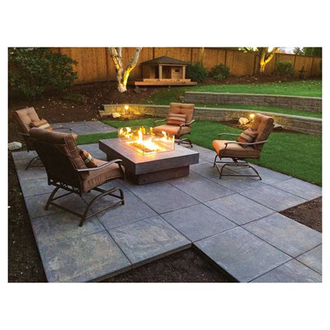 materials patio slab 24 quot x 24 quot charcoal r 233 no d 233 p 244 t