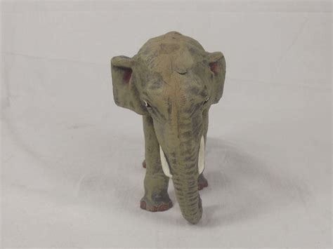 elephant figurines vintage composite large indian elephant figurine from