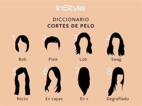 diccionario de cortes de pelo instyle mx